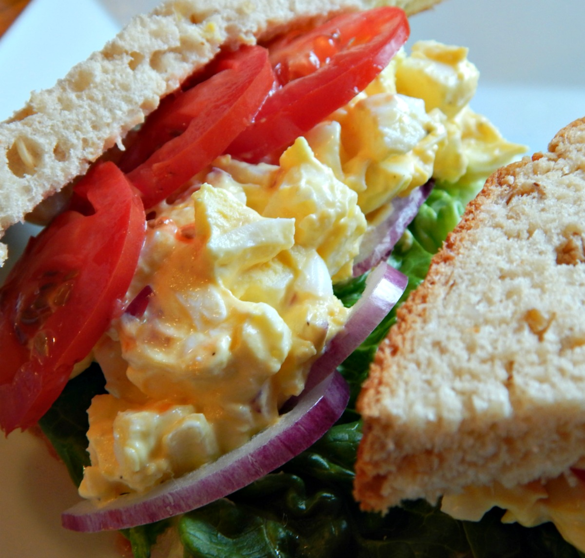 how to make egg salad sandwich without mayo