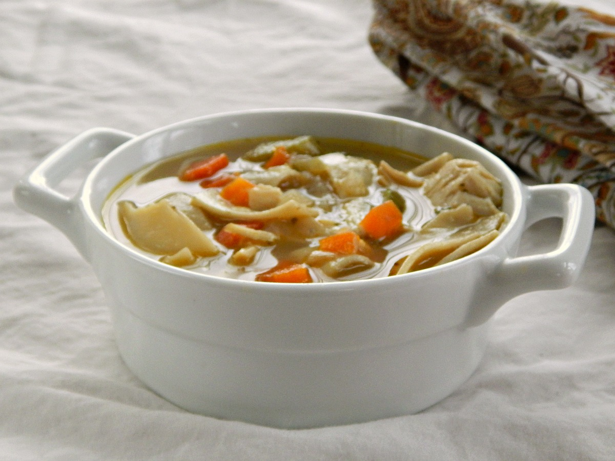 Turkey Noodle or Chicken Noodle Soup