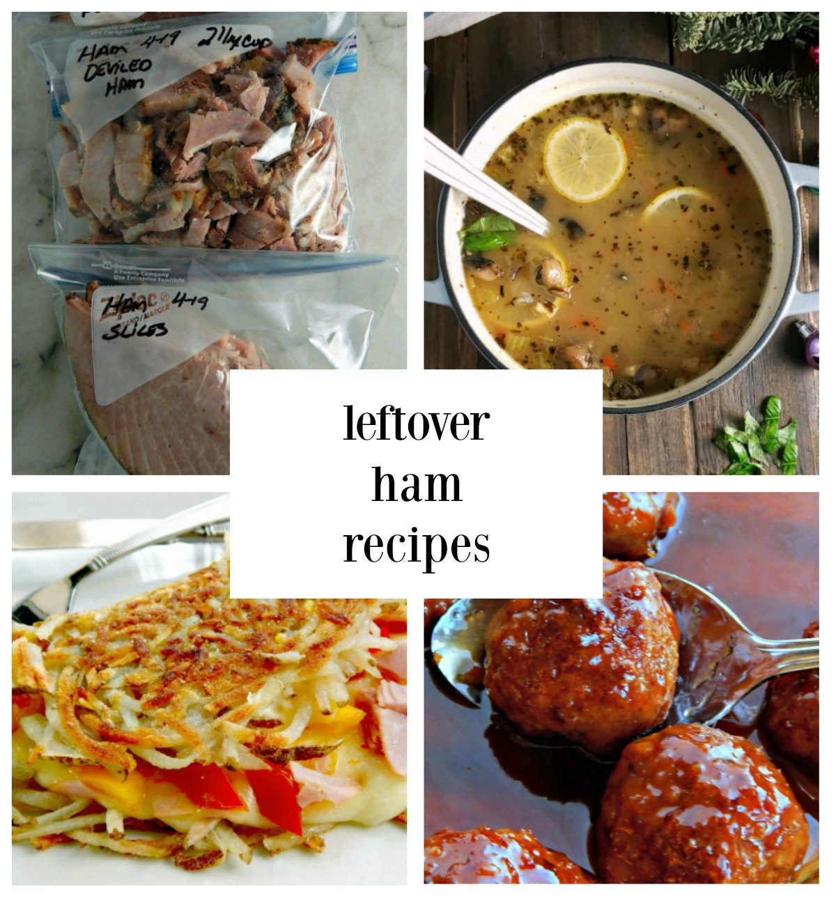 12 Days of Ham Leftover Ham Recipes