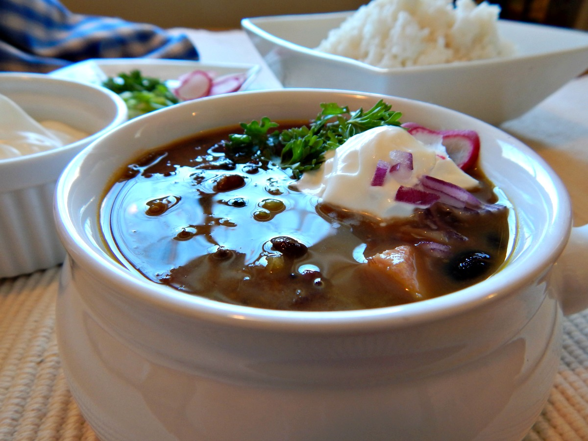cuban black bean soup traditional ham