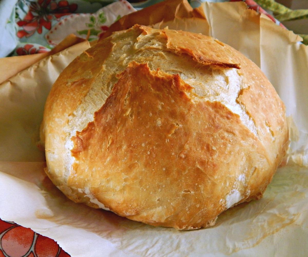 Crusty Bread Easy Overnight No Knead