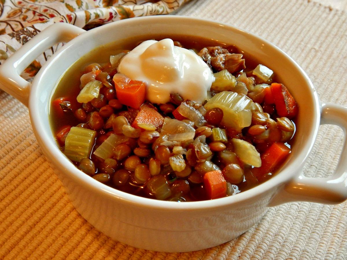 Lentil & Ham Soup