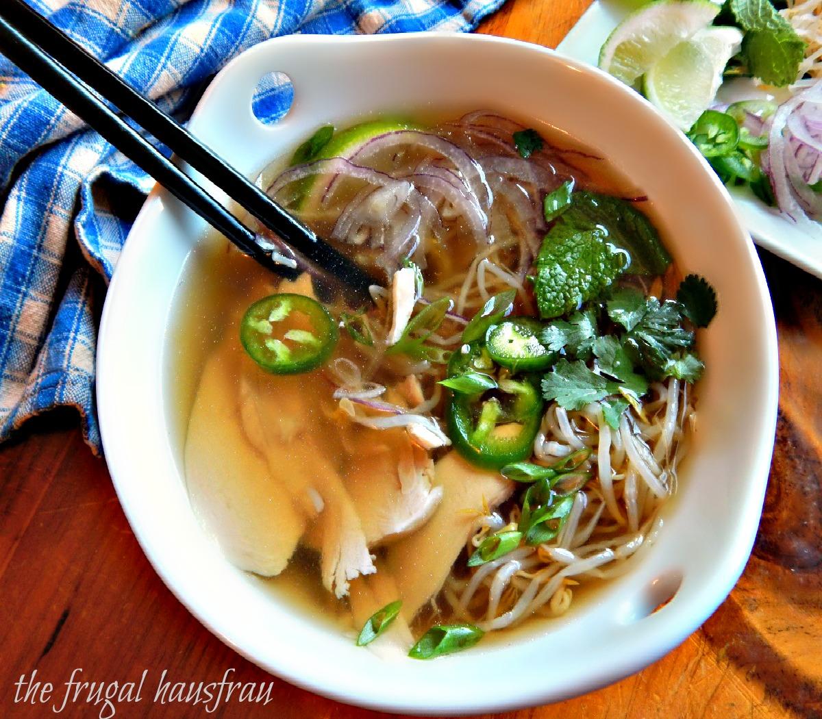 Pho Ga Vietnamese Chicken Noodle Soup