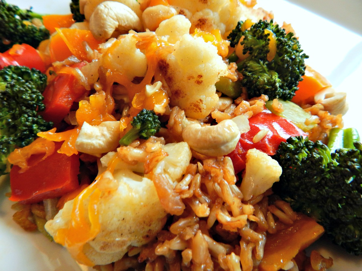 Vibrant Vegetarian Casserole