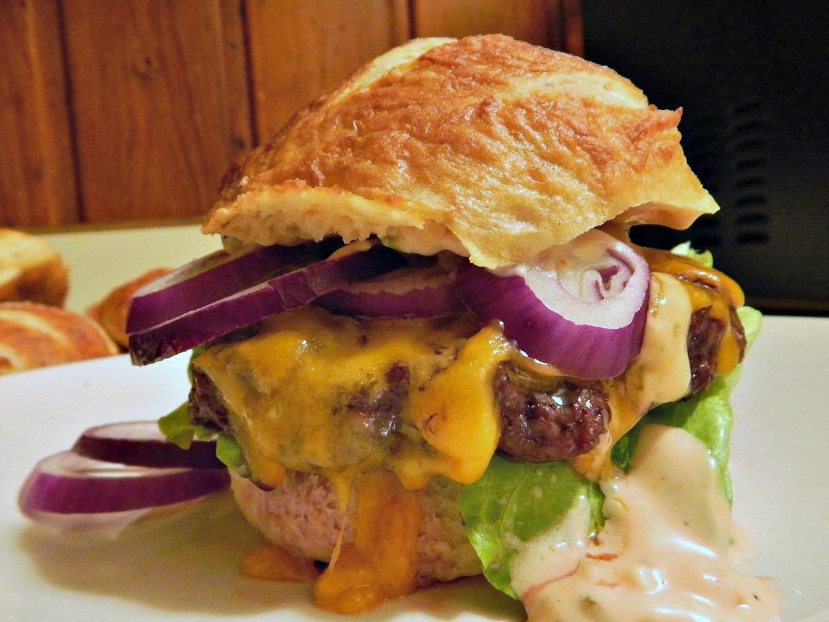 Oven Roasted Hamburgers Burgers Easy