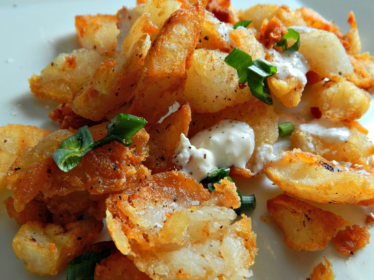 Baled Potato Hashbrowns