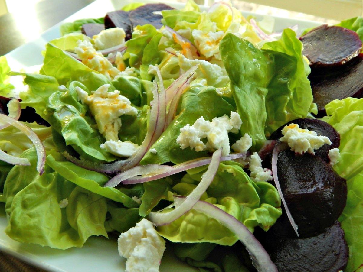 Beet Salad with Honey Citrus Vinaigrette