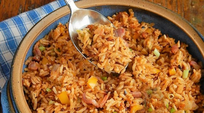 Down & Dirty Cajun Rice
