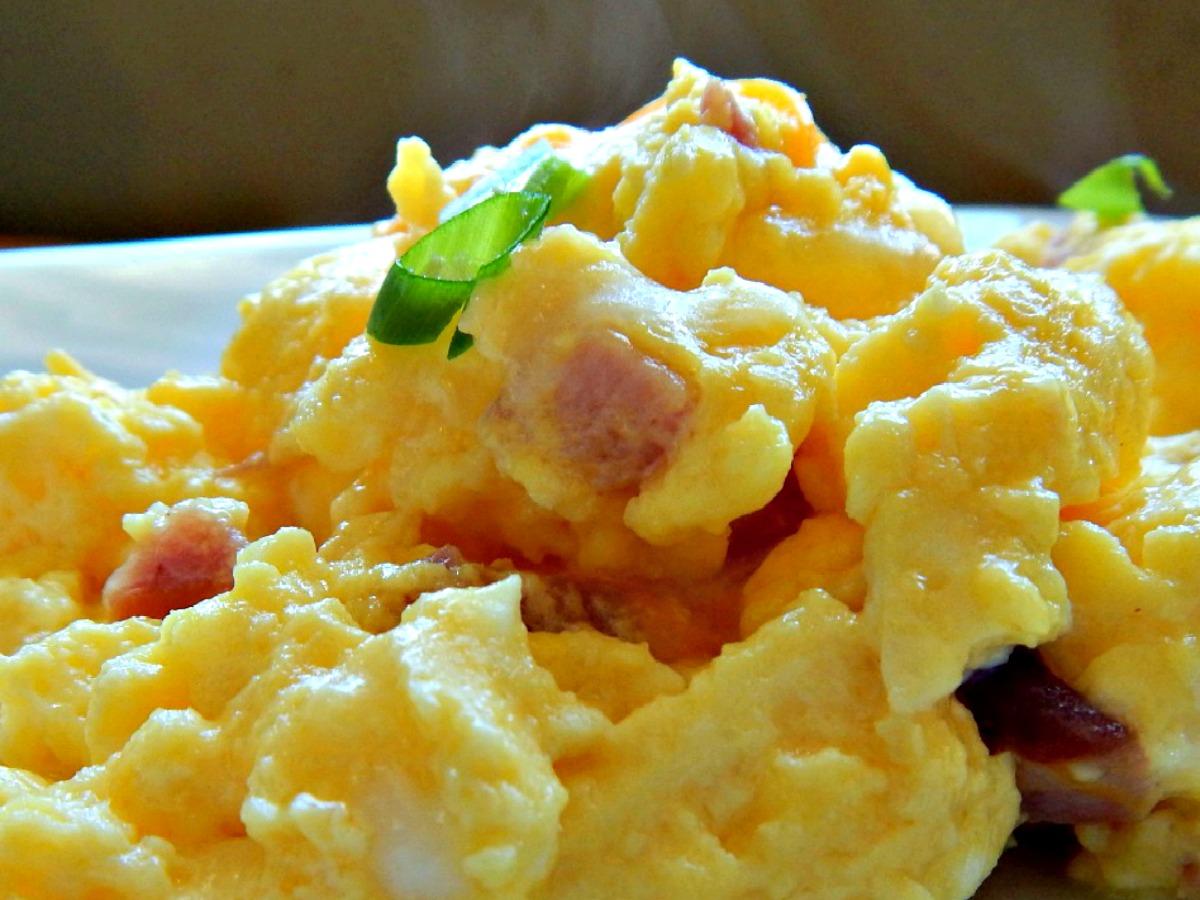 """Oven Baked Eggs """"Hotel"""" Eggs"""