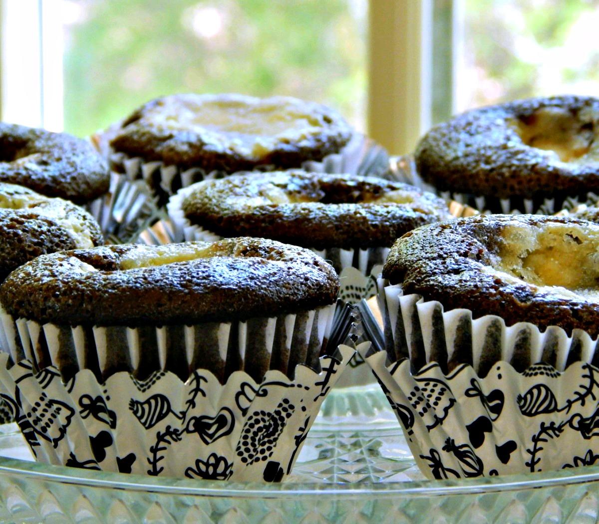Black Bottom Cupcakes (Cream cheese & chocolate)