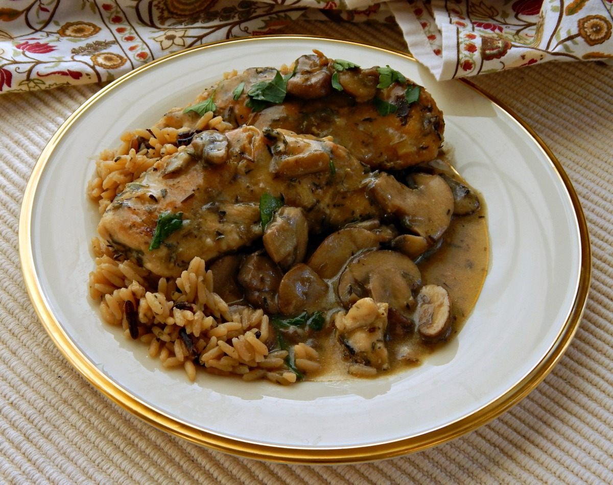 Three Herb Chicken & Mushrooms