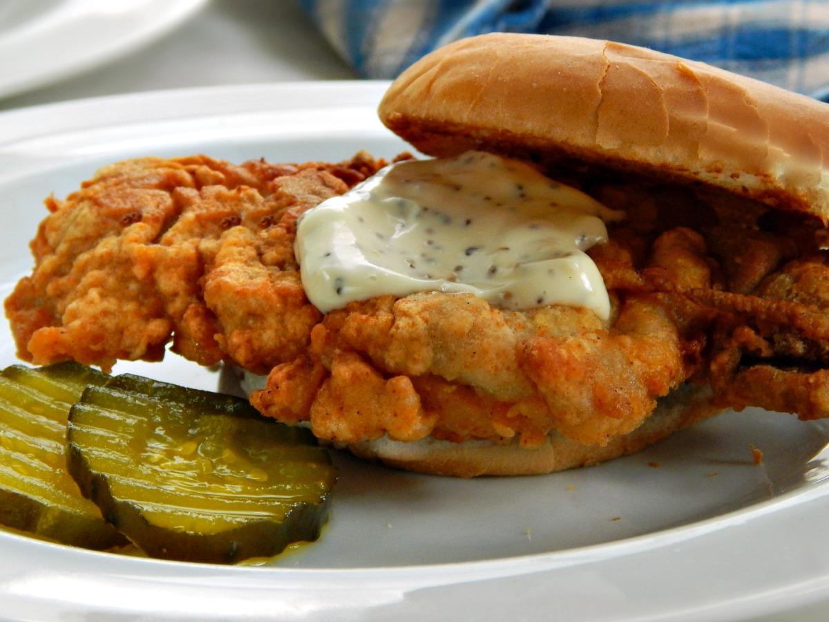 Spicy Fried Chicken Sandwich Bon Appetit BA Best