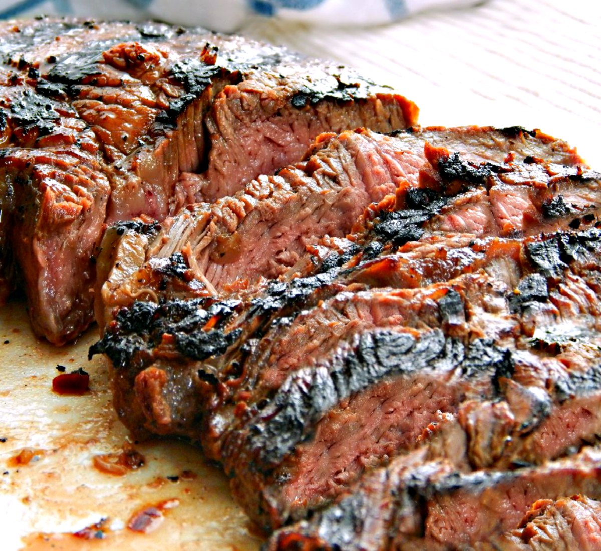 Teriyaki Marinated Steak London Broil