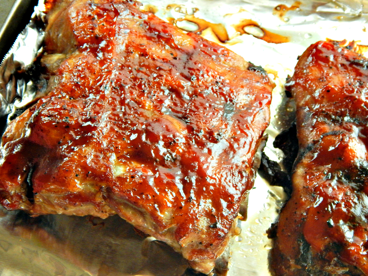 Slow Cooker Baby Back Ribs - perfectly done, not falling off the bone tender