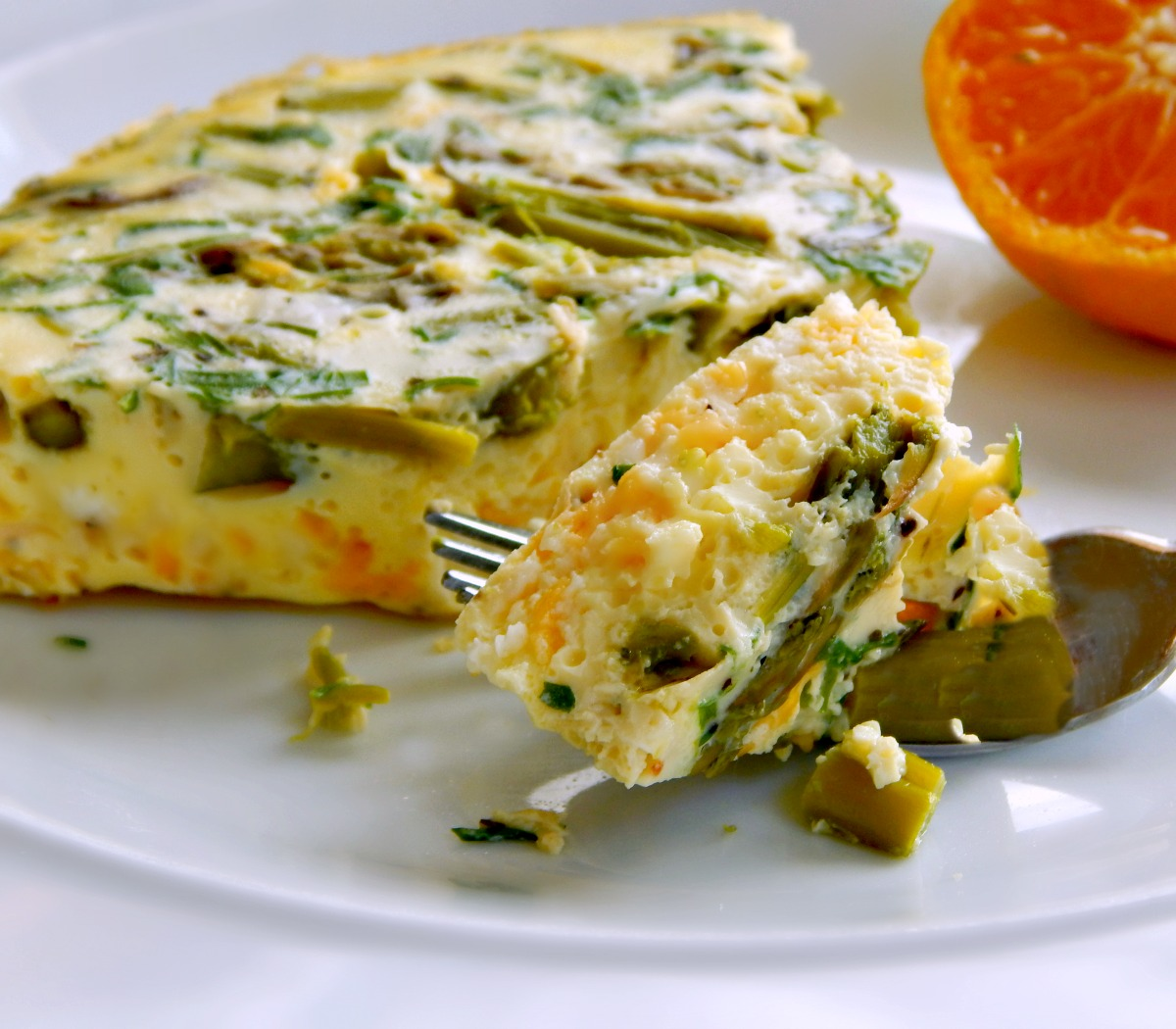 Asparagus Chive Frittata Instant Pot