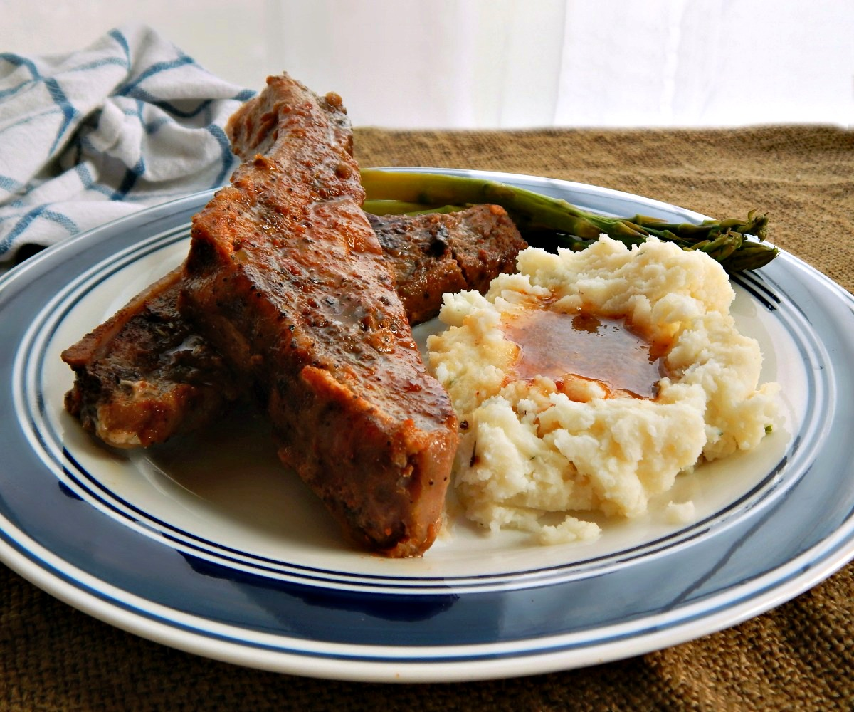 Sweet & Sour Country Style Ribs - Slow Cooker, Instant Pot or Oven