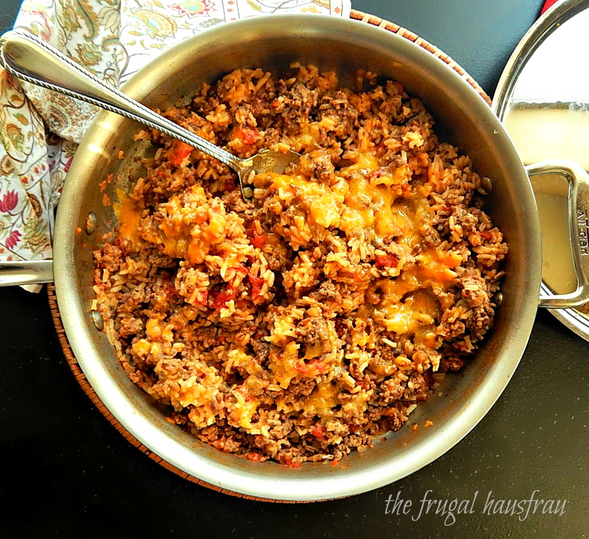 Porcupine Skillet Dinner