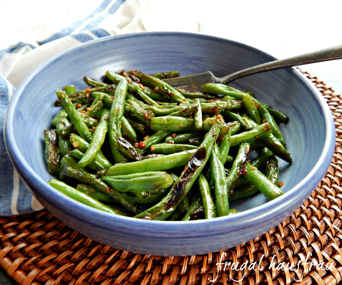 Takeout Style Green Beans