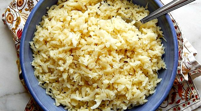 Instant Pot Cauliflower Rice