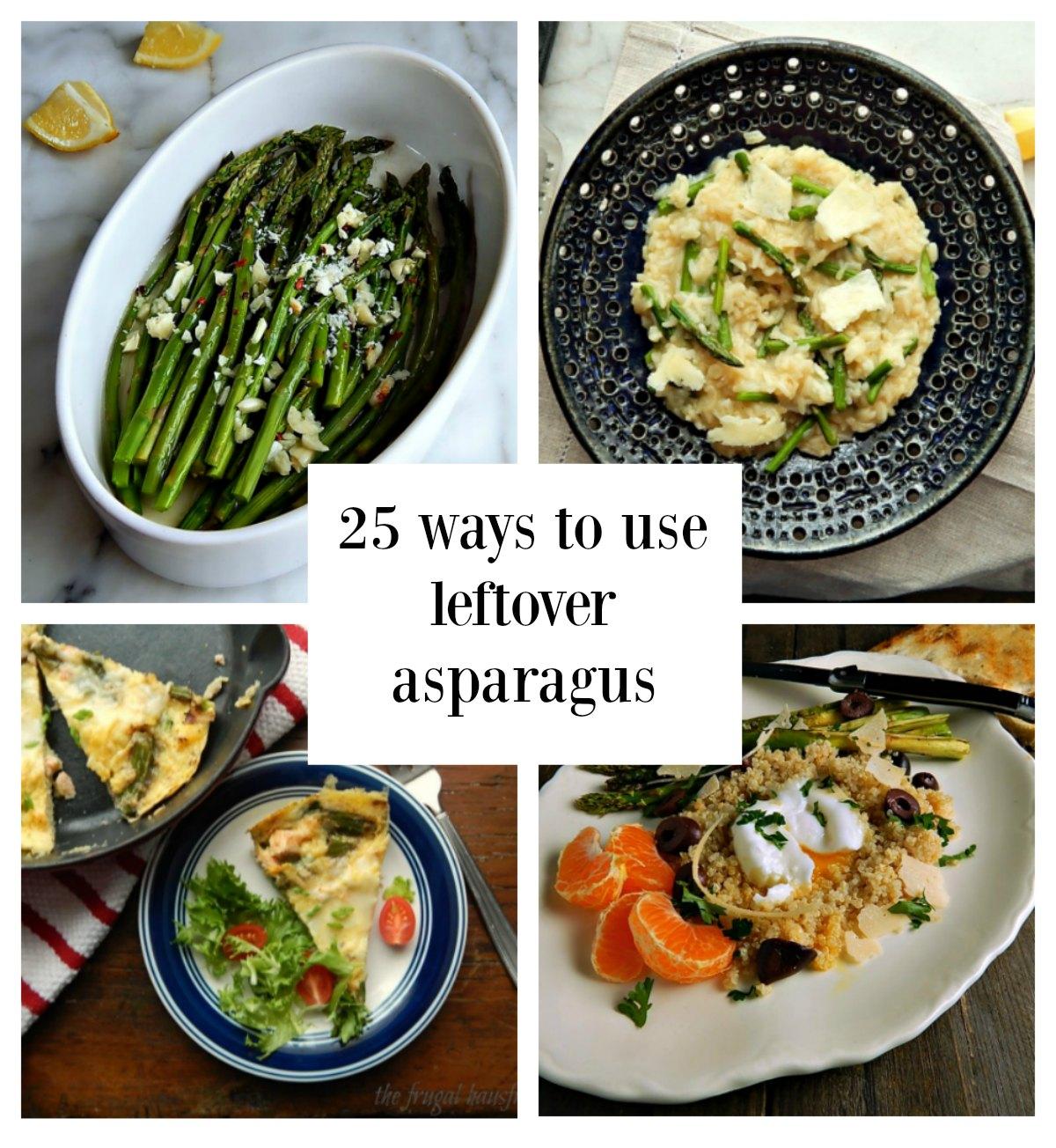 Leftover Asparagus
