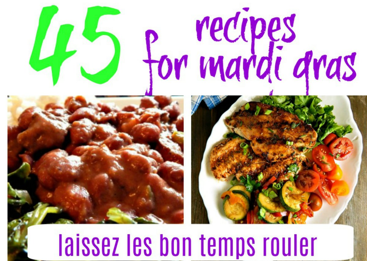 2 dozen recipes for a mardi gras party