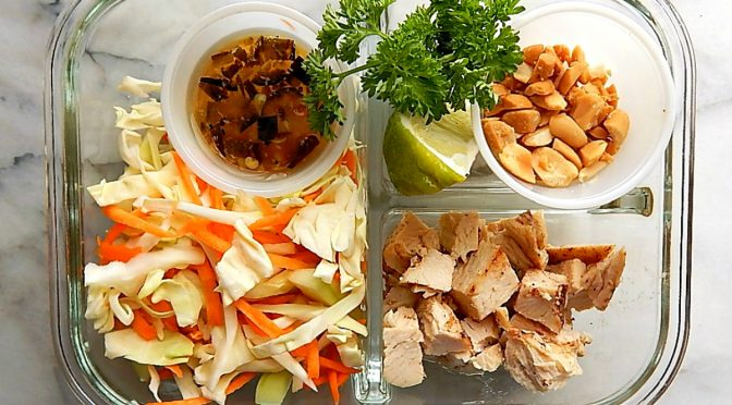 Vietnamese Chicken Salad Meal Prep