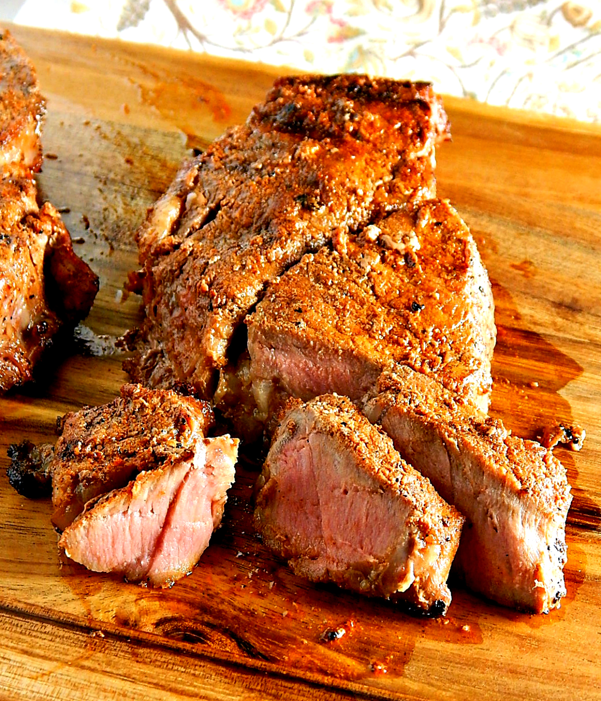 New York Strip Steak with Southwestern Rub
