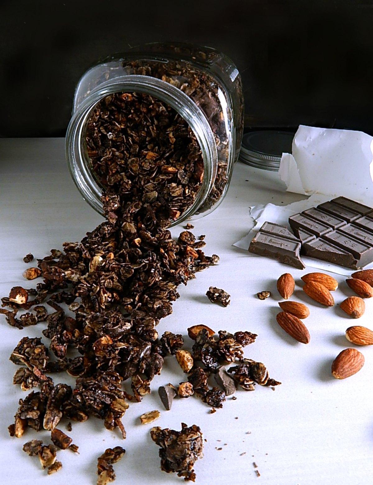 German Chocolate Granola
