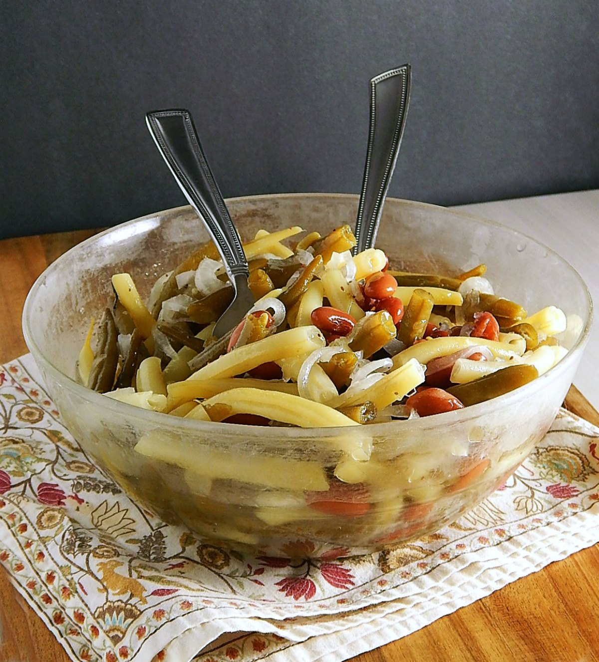 Old Fashioned Three Bean Salad