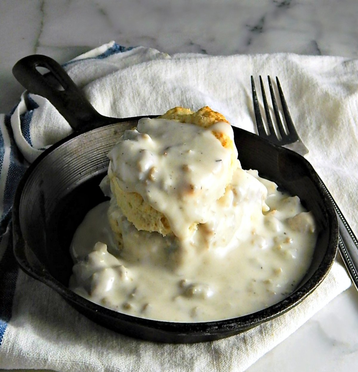 Classic Biscuits & Sausage Gravy