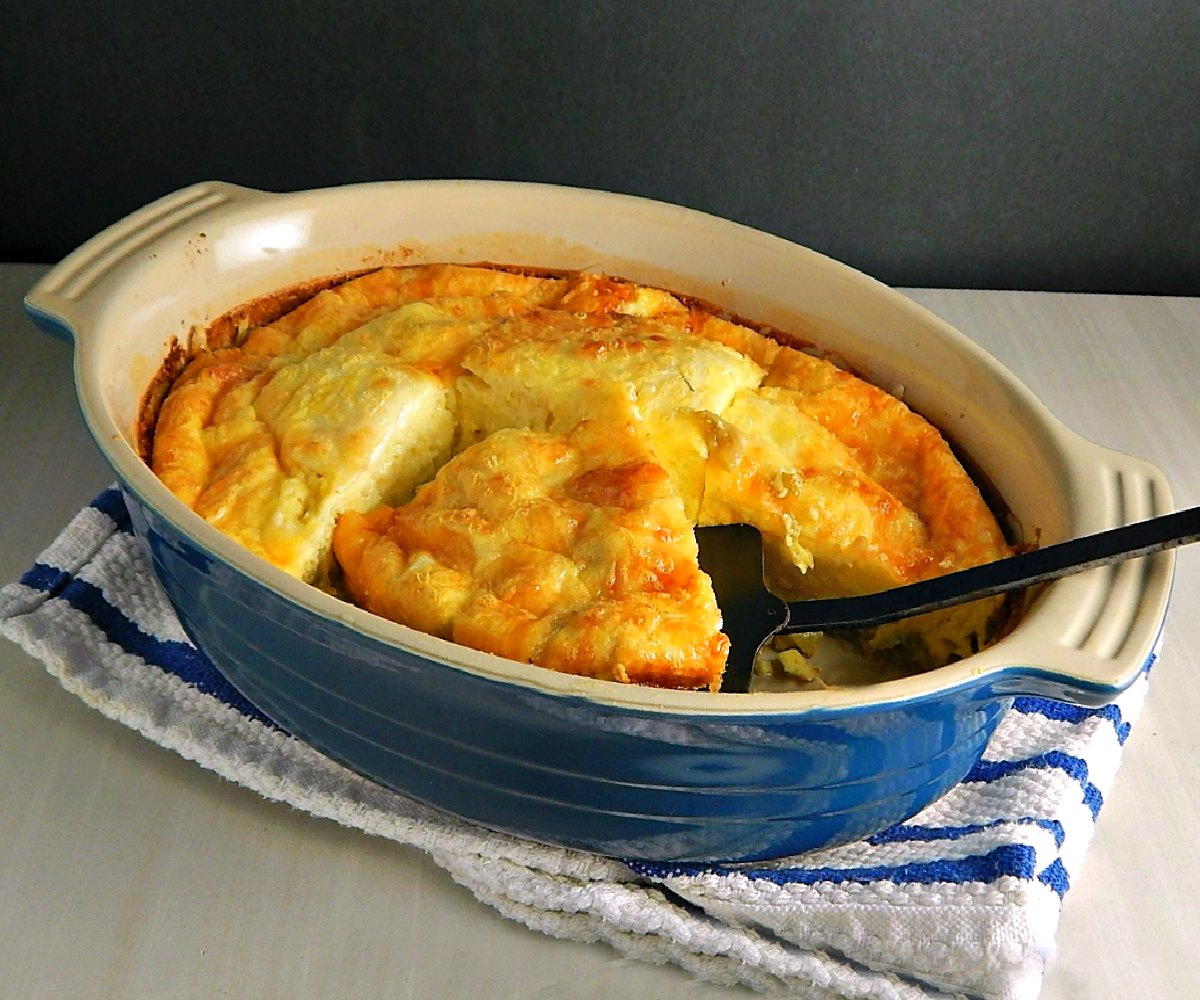 Green Chile Egg Bake