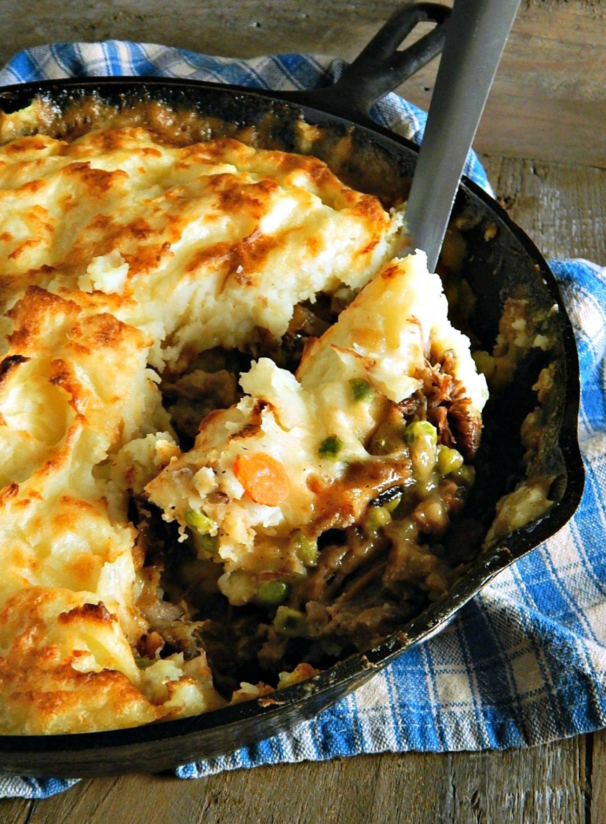Shepherds Pie from Leftover Pot Roast
