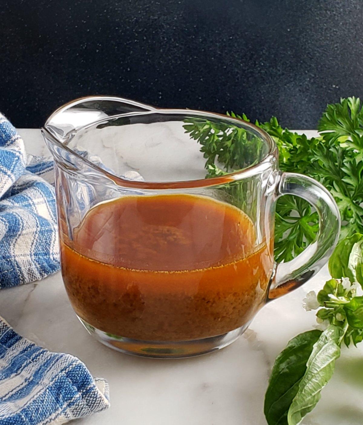 Sun Dried-Tomato Vinaigrette