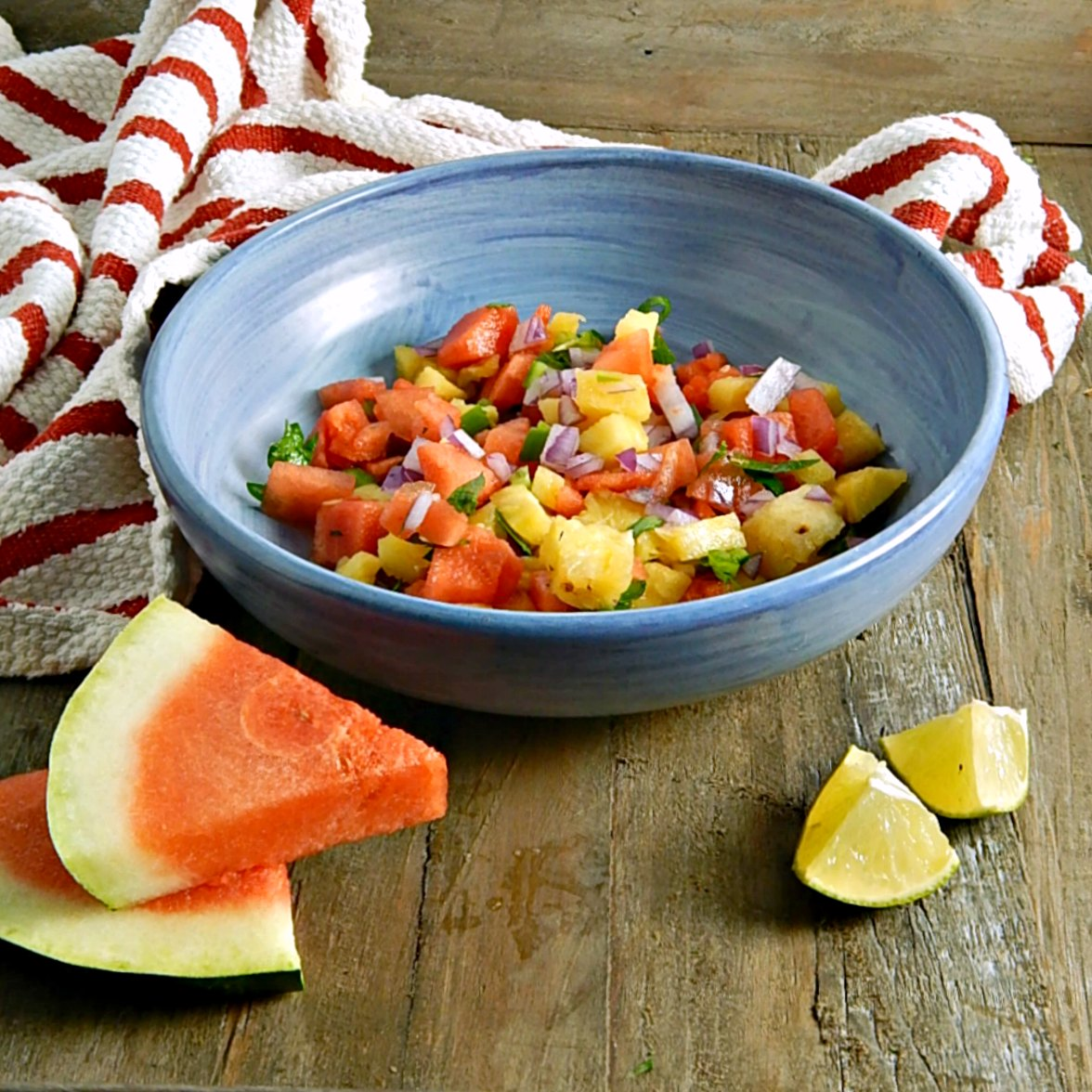 Watermelon Pineapple Salsa