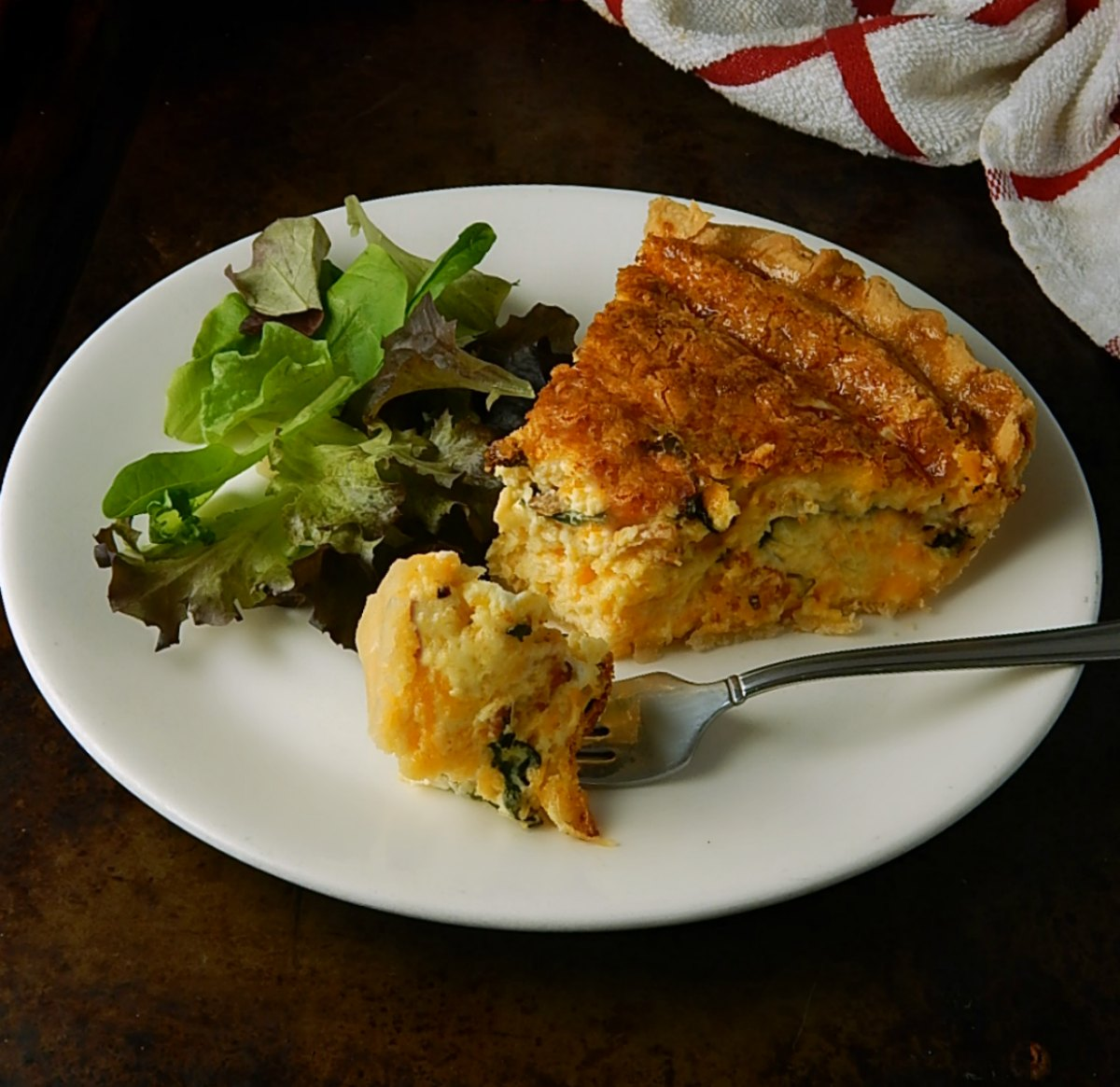 Simon Pearce Quechee Quiche