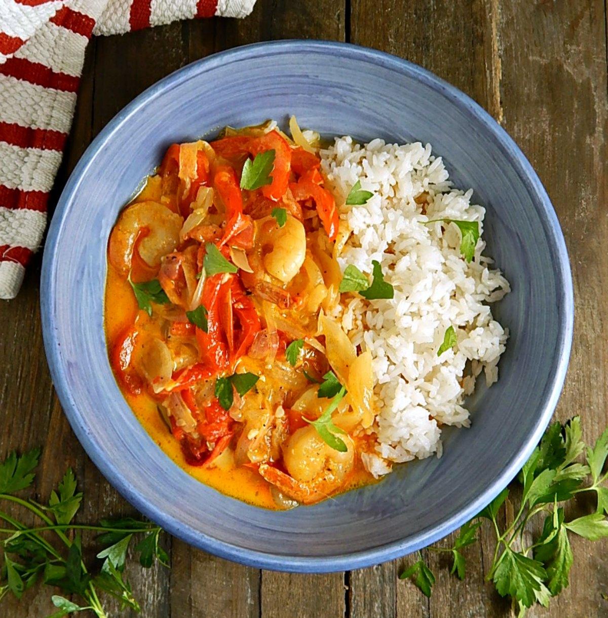 Moqueca Brazilian Seafood Stew