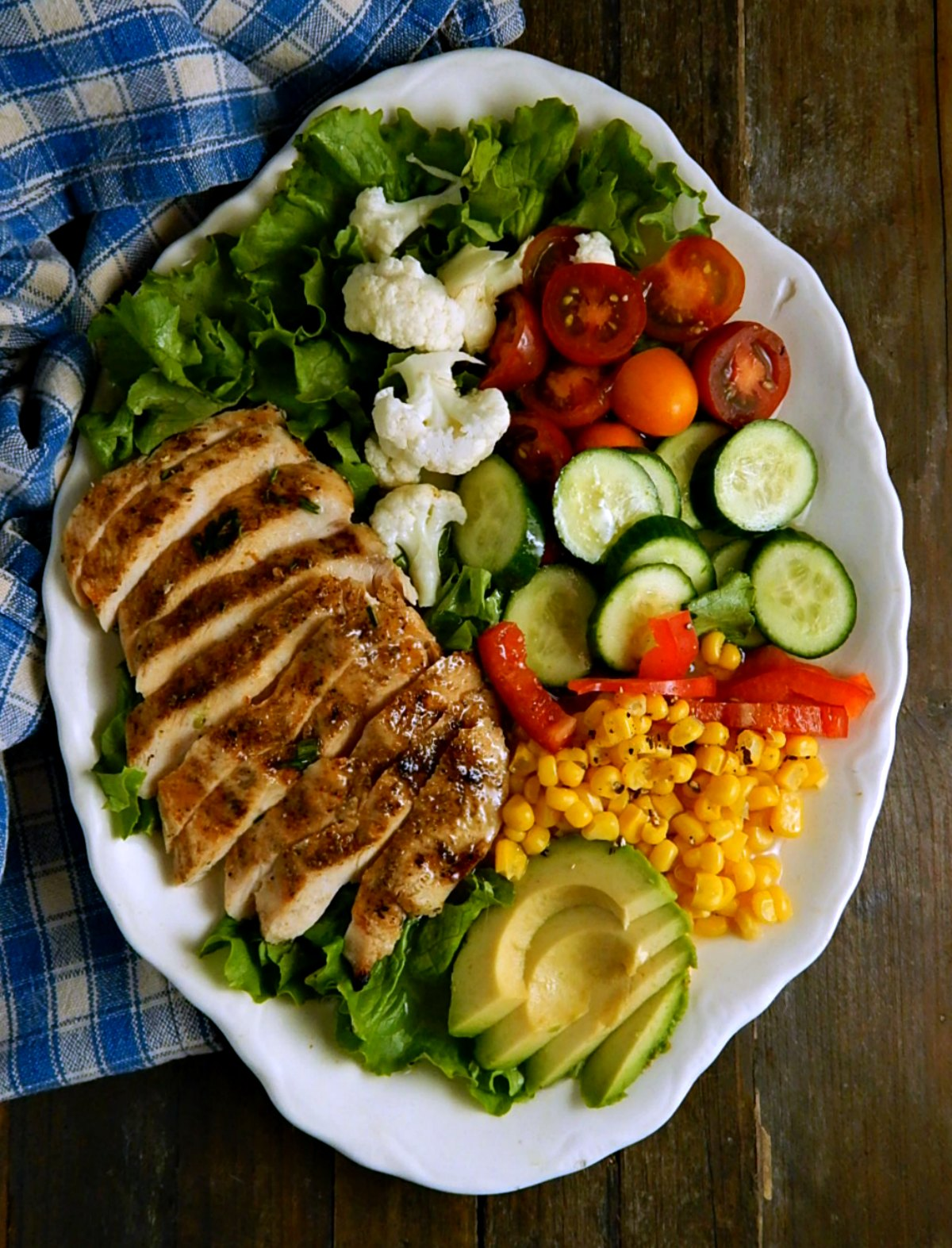 Sensational Cajun Chicken Salad