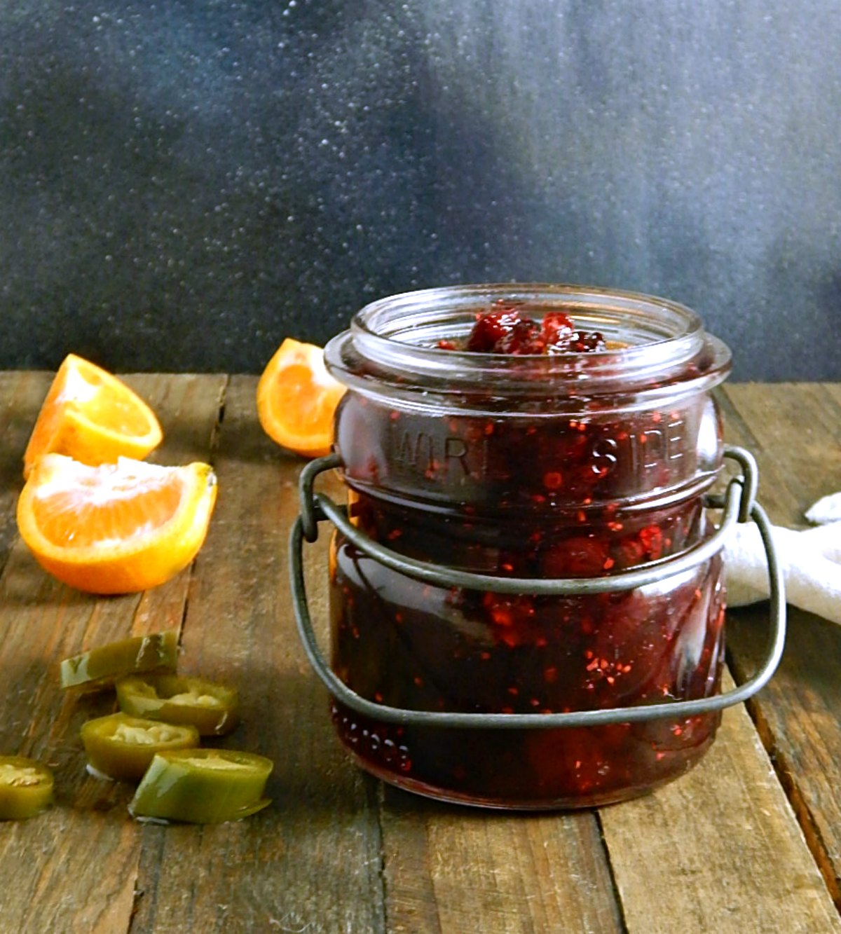 Spicy Jalapeno Cranberry Sauce
