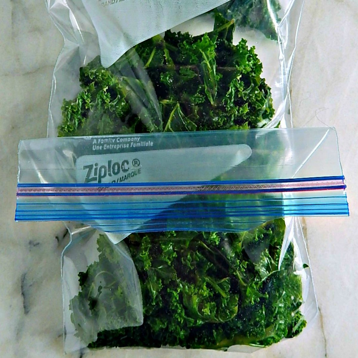 Freeze Kale the Right Way