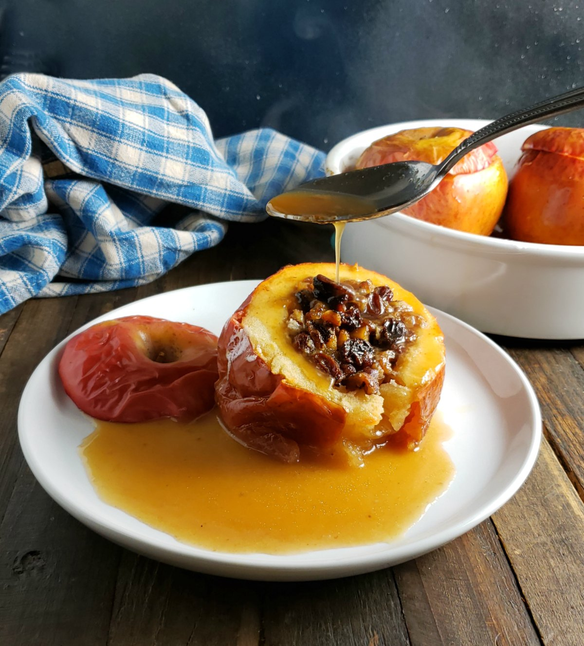 German Baked Apples Bratapfel