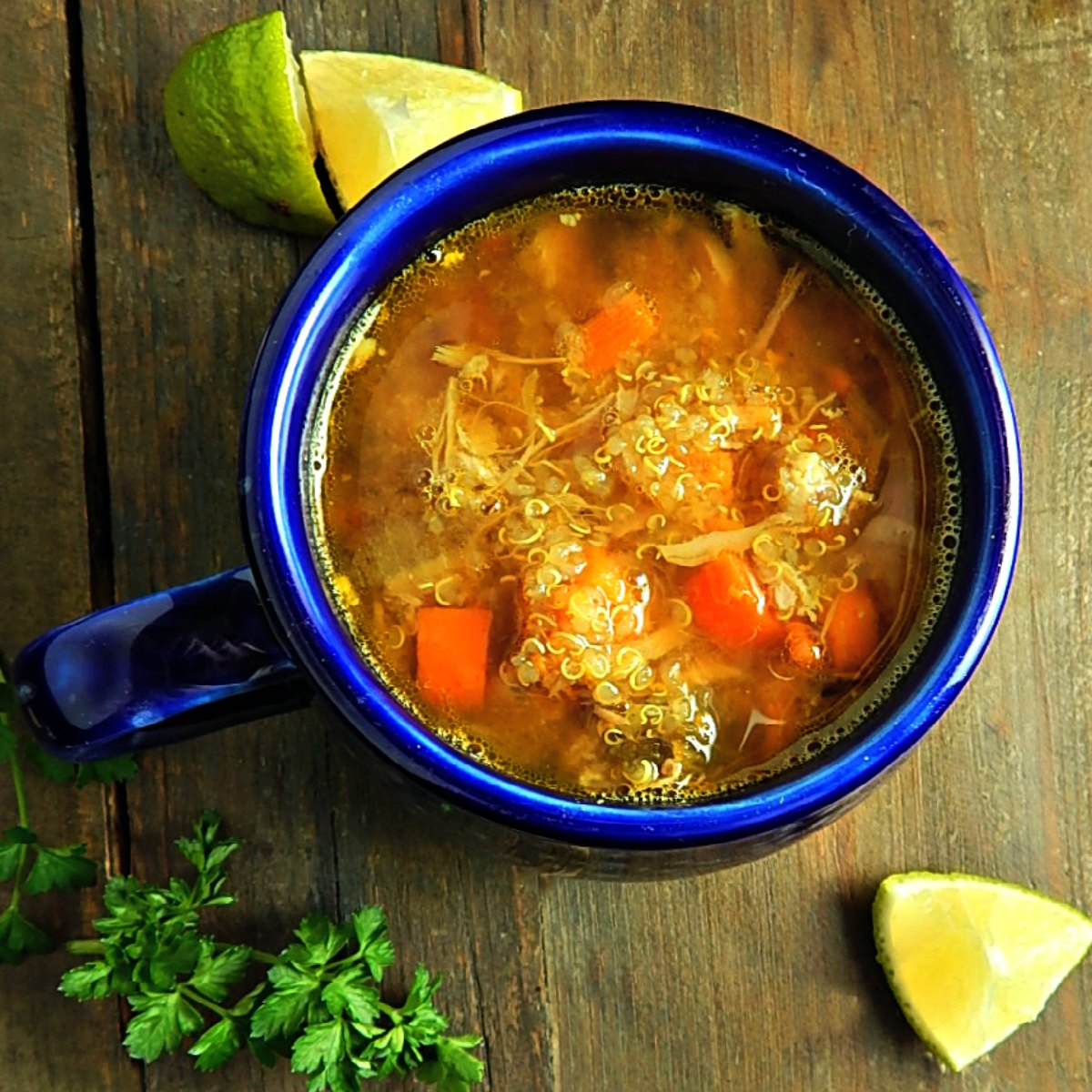 Peruvian Quinoa Soup