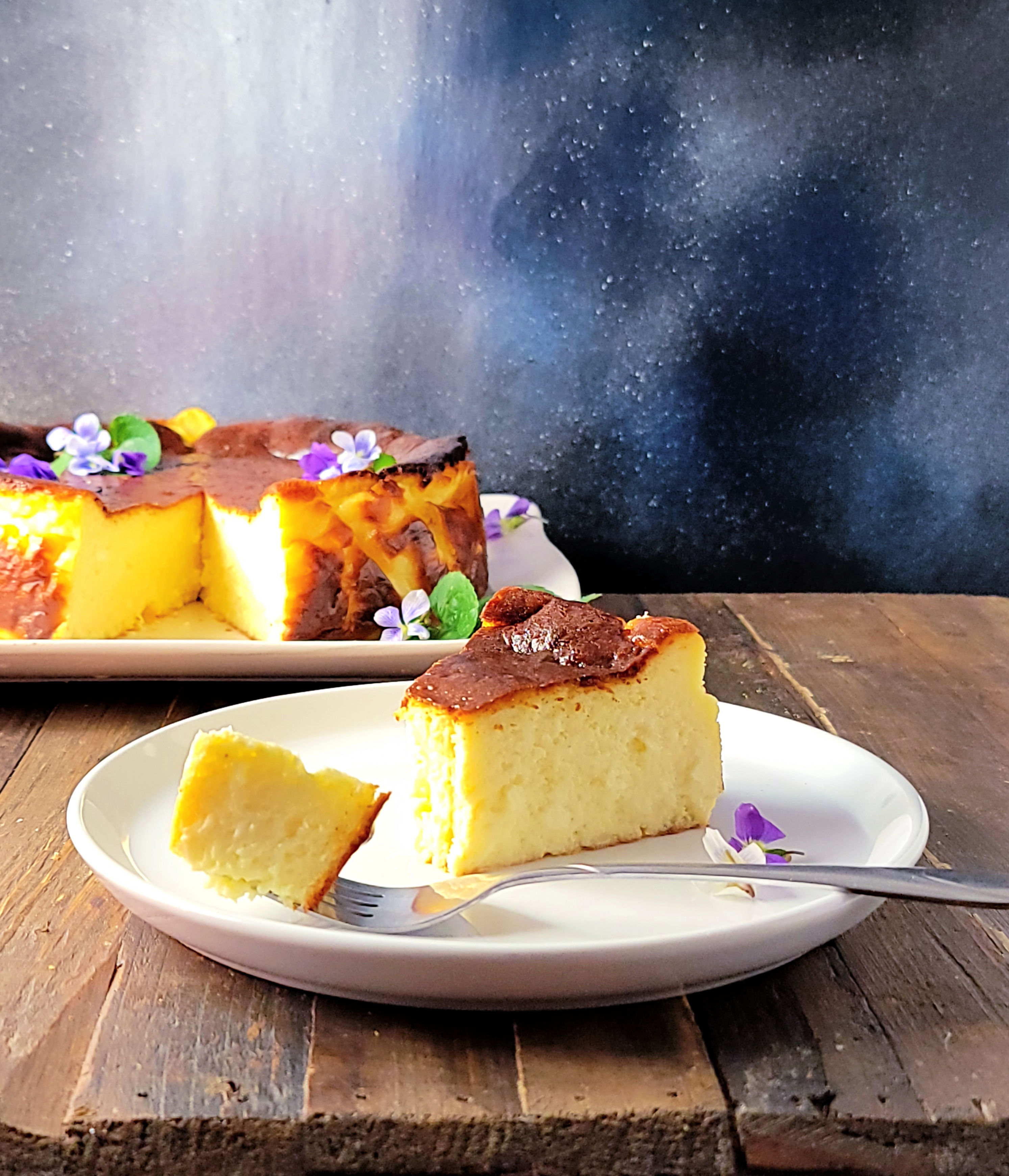 Easy Basque Burnt Cheesecake
