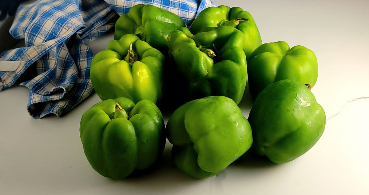Too Many Green Peppers