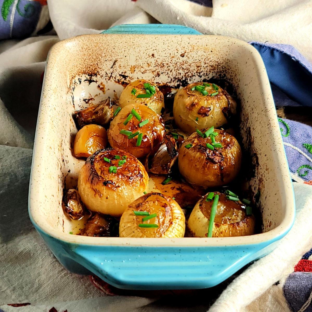 Simple Roasted Onions